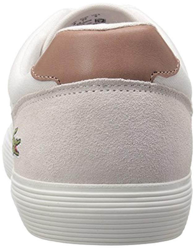 786ccbd1cccd7 Lyst - Lacoste Jouer Cam Fashion Sneaker in White for Men - Save 38%