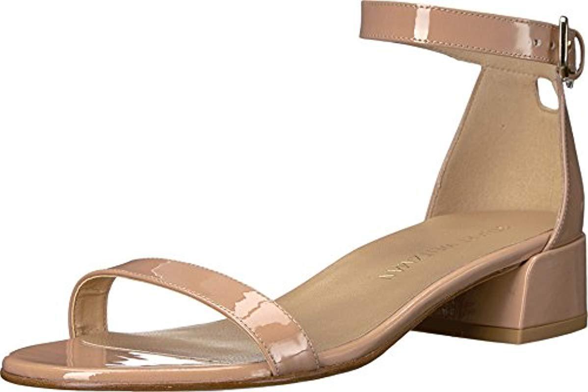 Stuart Weitzman Women/'s Control Gladiator Sandal