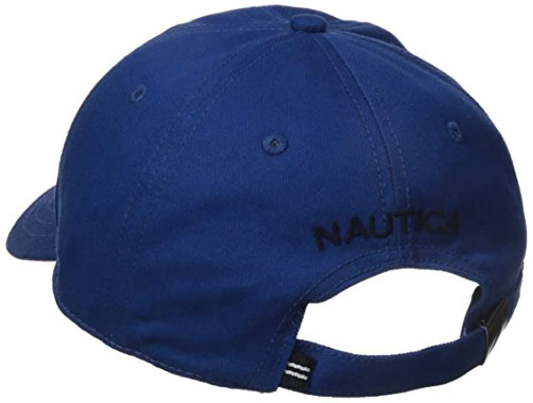 095437d96b0d29 Nautica - Blue J-class Hat for Men - Lyst. View fullscreen
