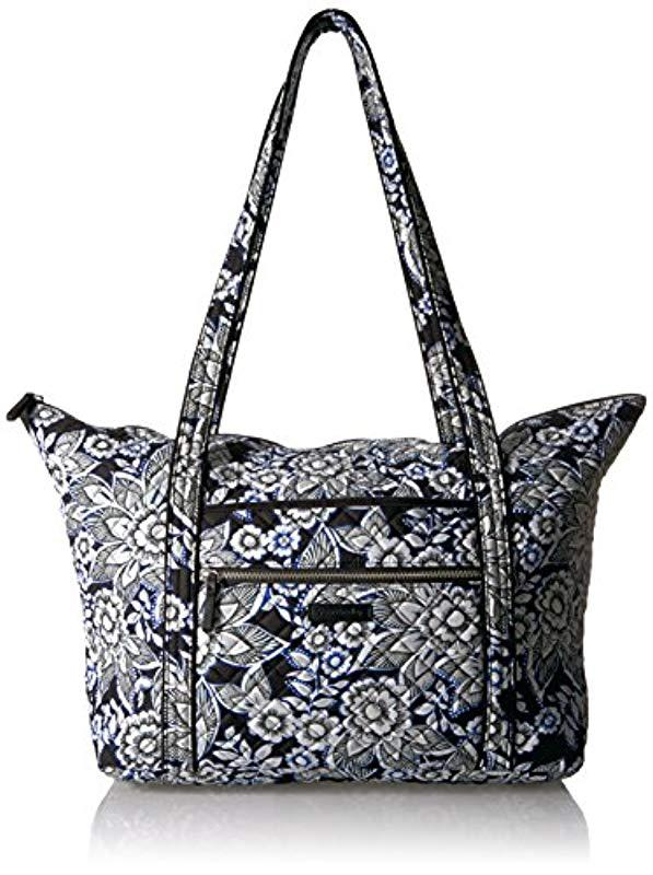 Vera Bradley - Black Iconic Miller Travel Bag e9ffd2b8e42b6