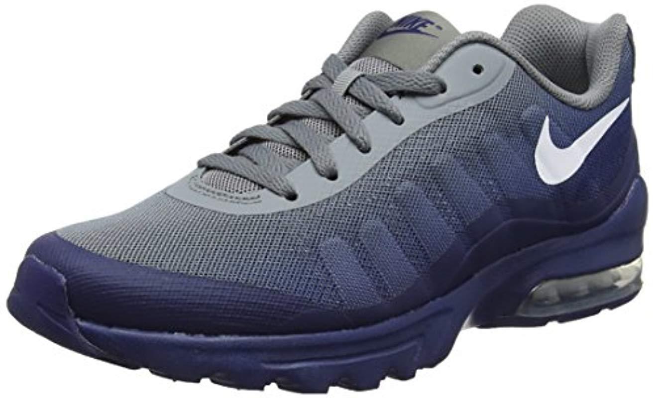 Nike Air Max Invigor Print Running Shoes in Grey (Gray) for Men - Lyst