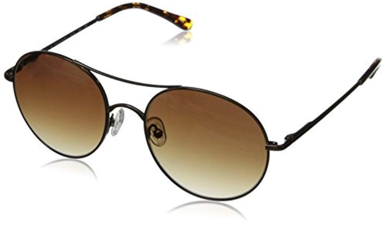 95e462d9195 Lyst - Sam Edelman Elie Tahari El 145 Brgd Round Sunglasses in Brown ...