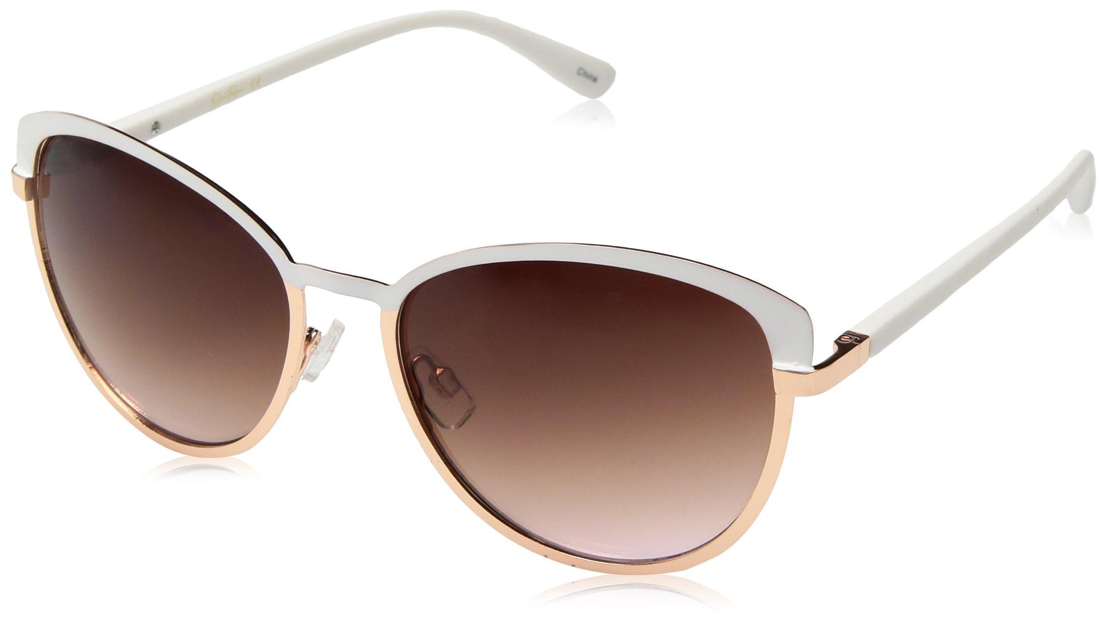 NWT Jessica Simpson J5329-Womens Sunglasses Gold/Brown #