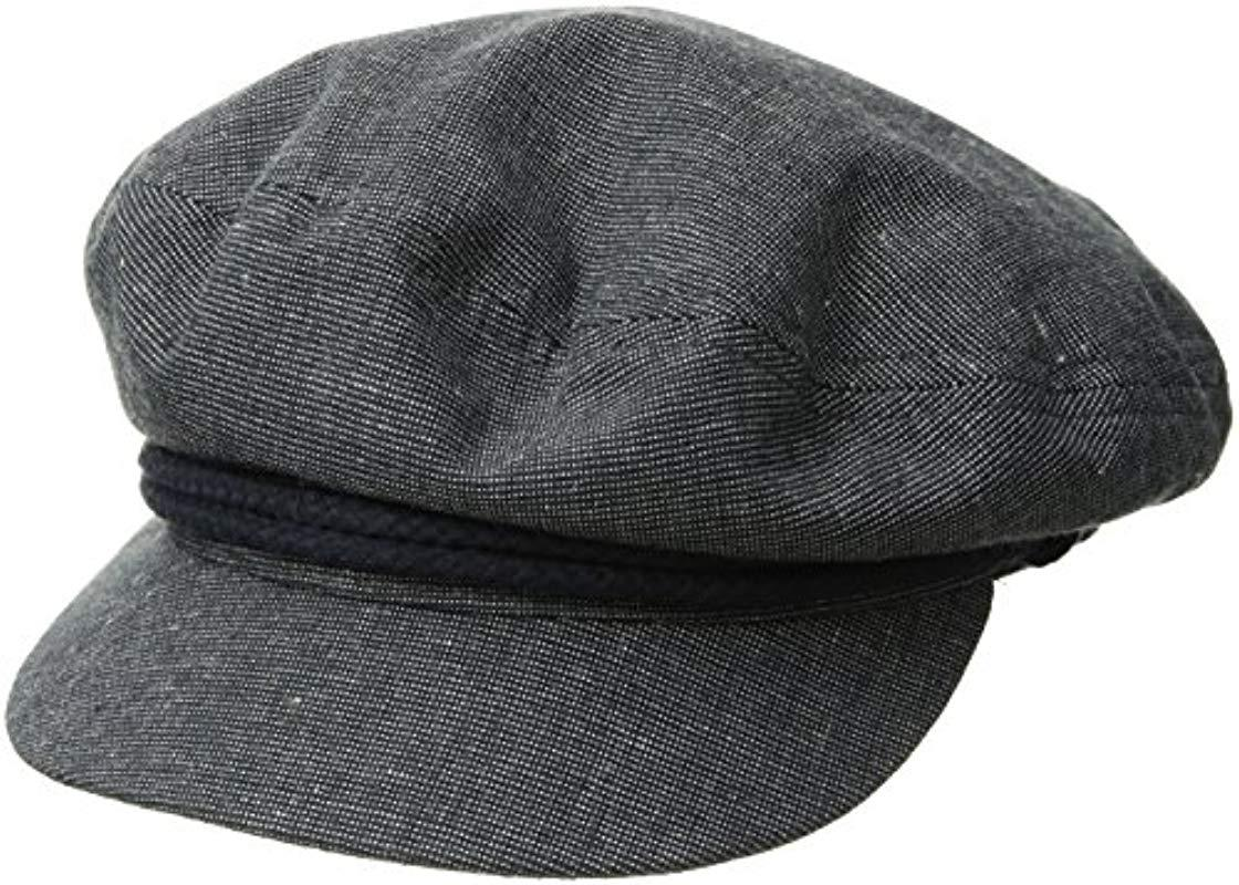 ee7f2a1a9 Lyst - Brixton Fiddler Cap in Gray for Men - Save 5.128205128205124%