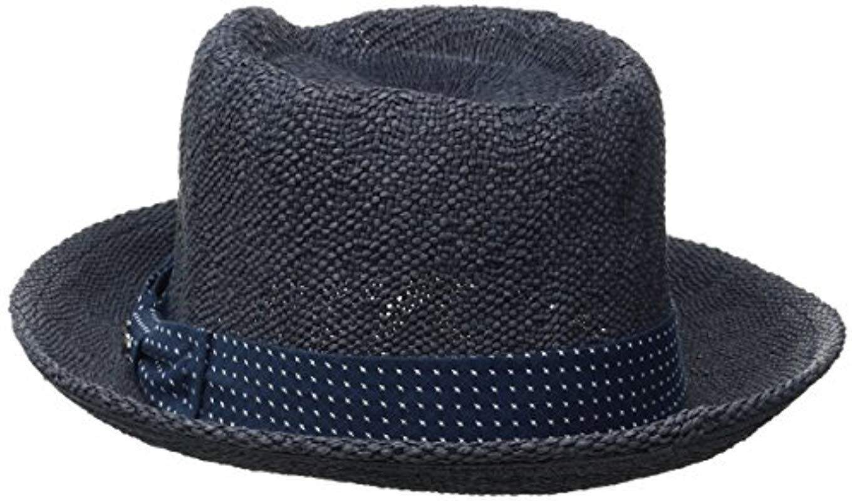 72a7ec49 Original Penguin - Blue Wide Brim Straw Fedora for Men - Lyst. View  fullscreen