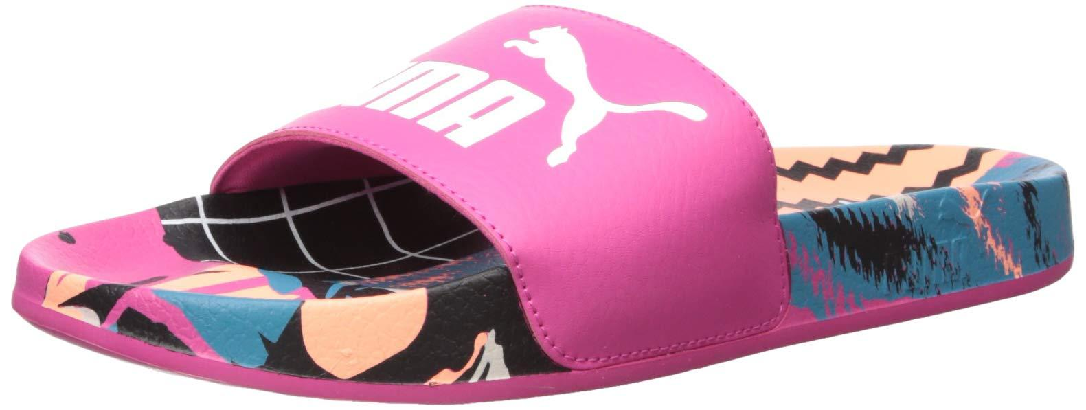 PUMA Rubber Leadcat Jelly Womens Slide Sandals in Black