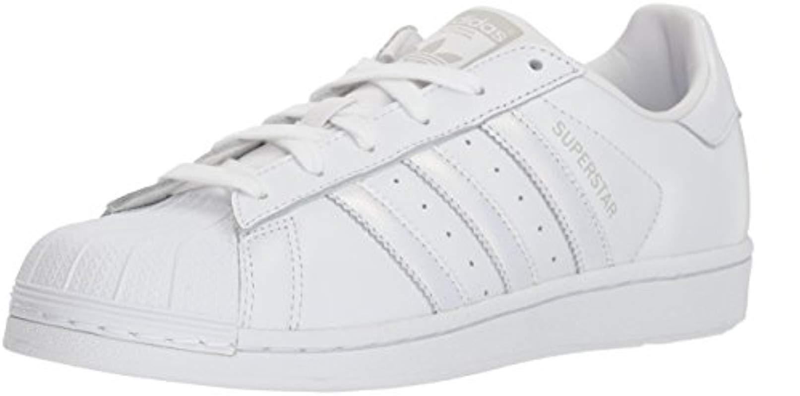 cheap for discount 87d9a e78f5 Lyst - Adidas Originals Superstar Shoes Running White grey, 8 M Us ...