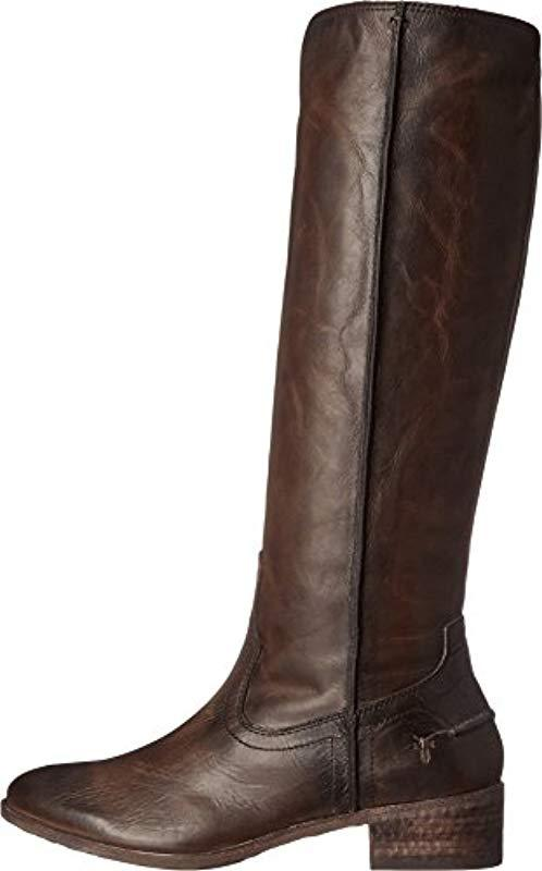 c9768dd1f62 Lyst - Frye Ray Seam Tall Riding Boot in Brown
