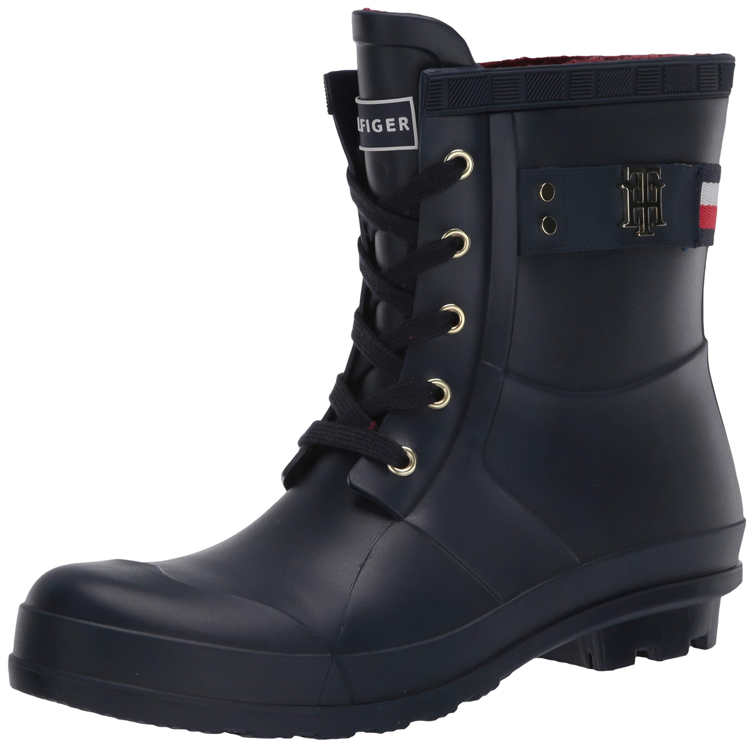 Tommy Hilfiger Toniee Rain Boot In Navy Blue - Lyst-7655