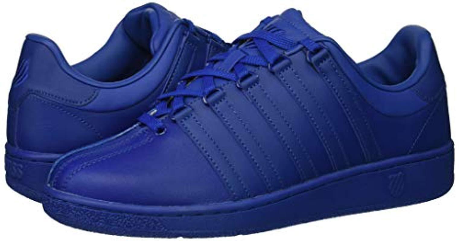 afa65ff875d603 Lyst - K-swiss Classic Vn Sneaker in Blue for Men - Save 20%