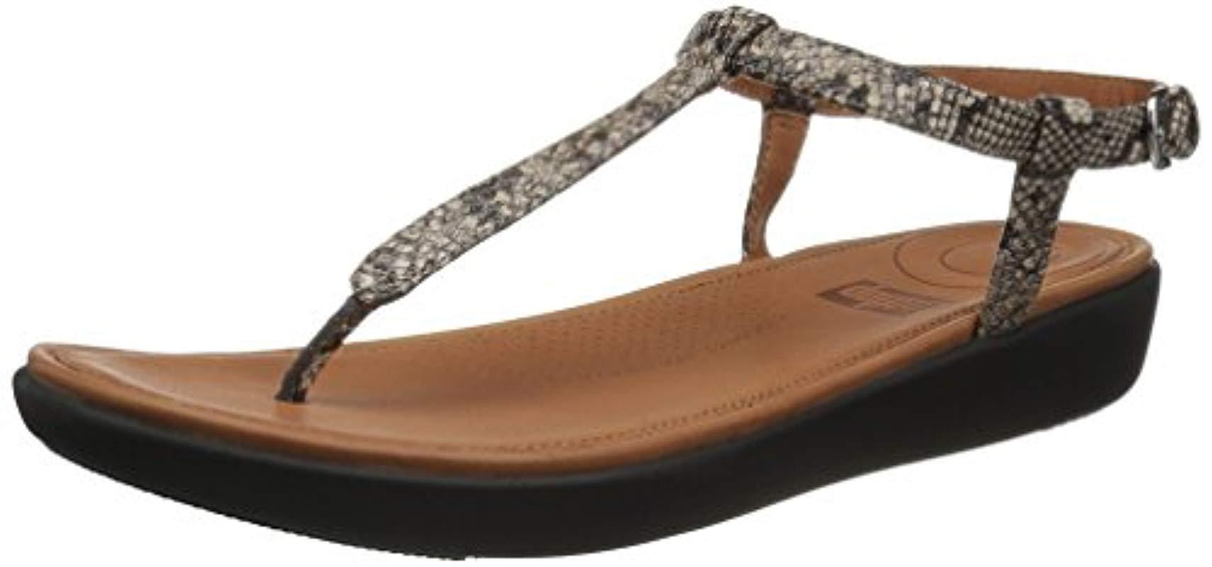 948f5c98e54d Lyst - Fitflop Tia Toe-thong Sandals Flat - Save 4%