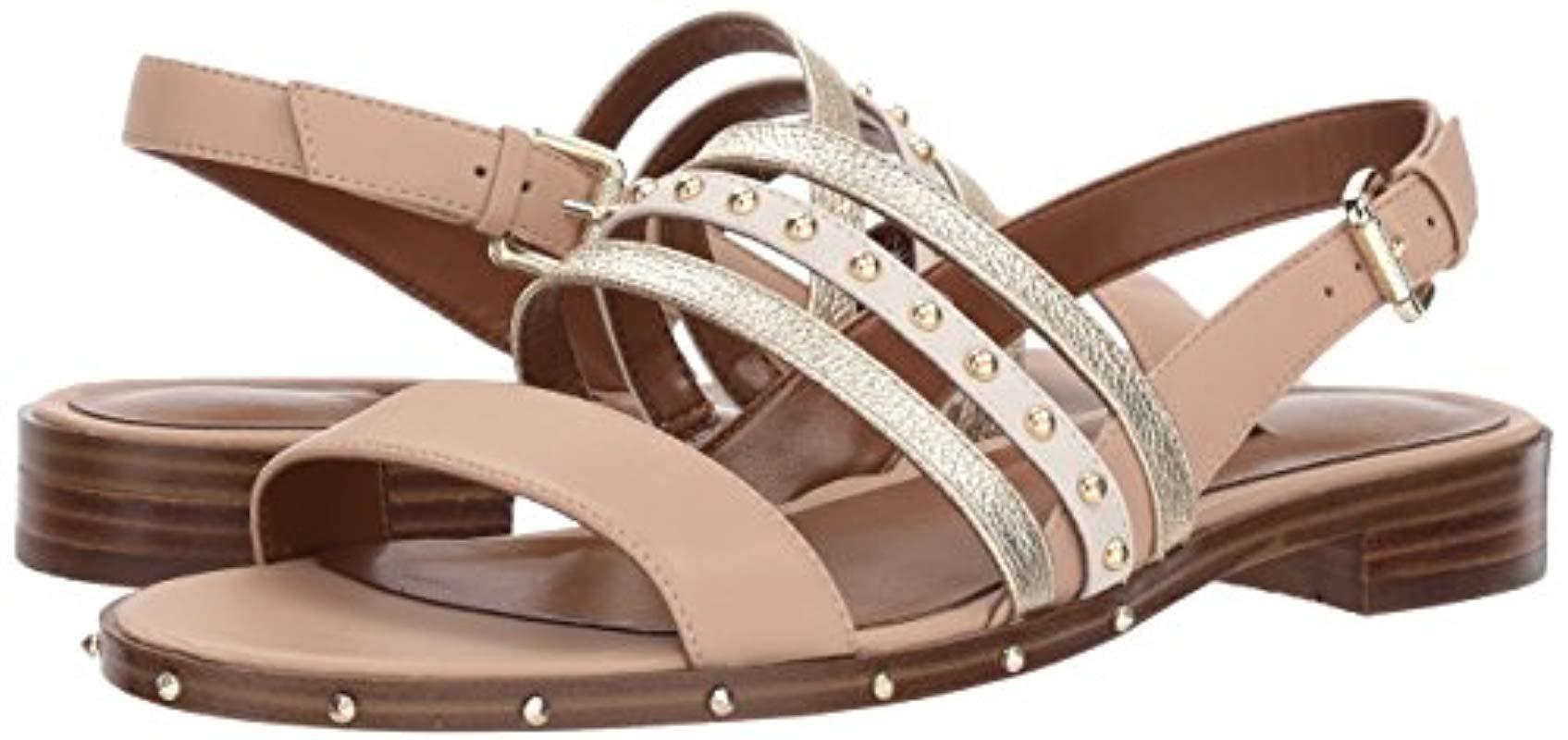 Aylen Moon chaylen leather flat sandal