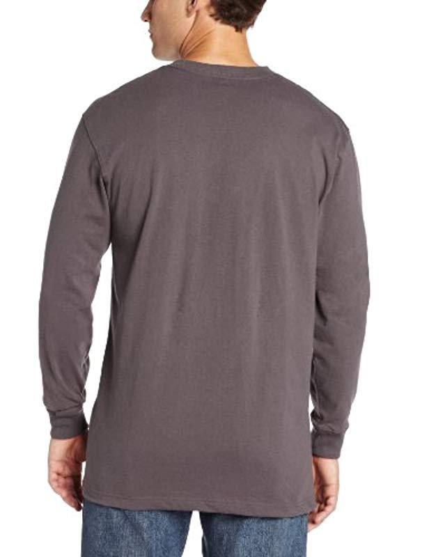 0adbc411c Lyst - Carhartt Graphic Road Warrior Long Sleeve T-shirt Original Fit in  Gray for Men