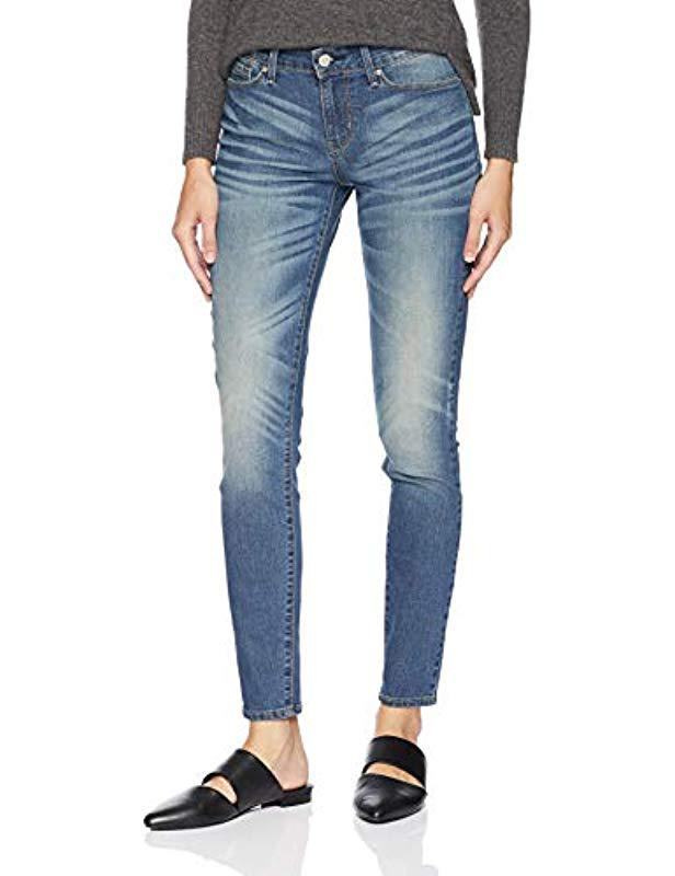 66a2ee9dd58c3 Signature by Levi Strauss   Co. Gold Label. Women s Blue Modern Skinny Jeans