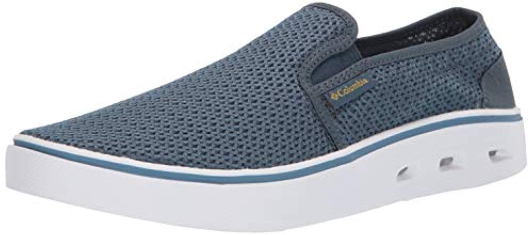 2eab166801a8 Lyst - Columbia Spinner Vent Moc Boat Shoe in Blue for Men
