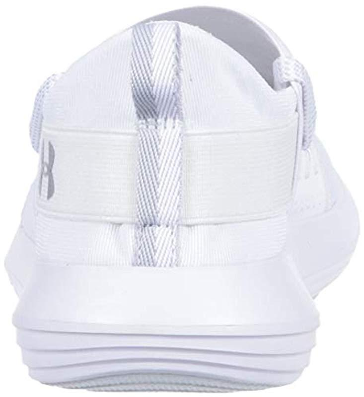 bee55aa0c00 Lyst - Under Armour Adapt Sneaker in White