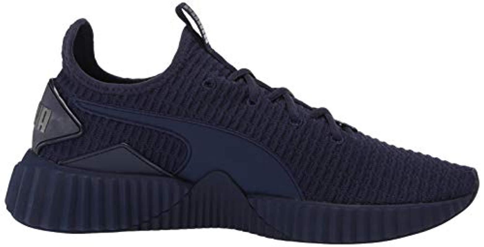meilleur modélisation durable Style magnifique PUMA Defy Mens Sneaker Peacoat 13 M US green.kiss.us