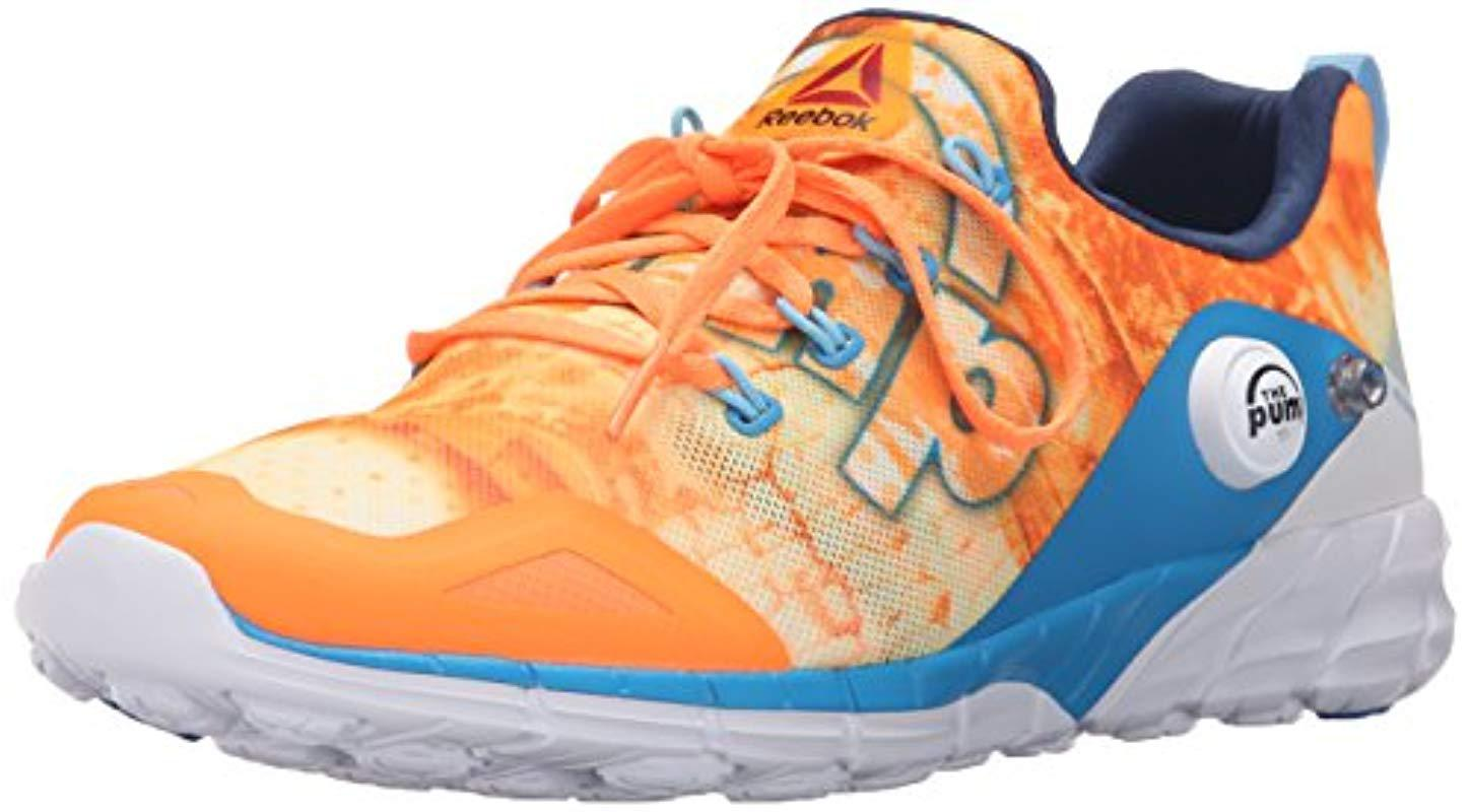 9ea6d250fbf Lyst - Reebok Zpump Fusion 2.0 Dunes Running Shoe - Save 2%