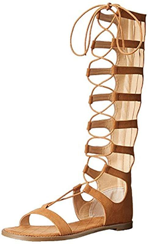 0f40b7e8d370ce Lyst - Chinese Laundry Galactic Gladiator Sandal in Brown