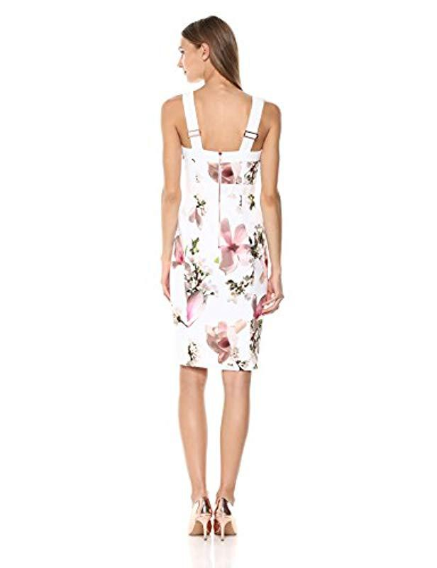 6ecccee353645 Lyst - Ted Baker Irasela in White