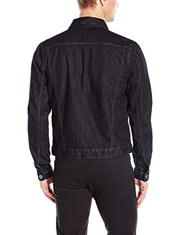 c970e929657ba5 Lyst - Calvin Klein Jeans Ripped Denim Jacket in Blue for Men