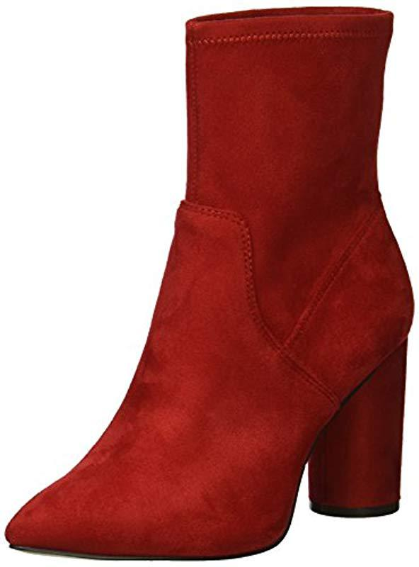 6aab5b813242 Lyst - BCBGeneration Ally Fashion Boot in Red