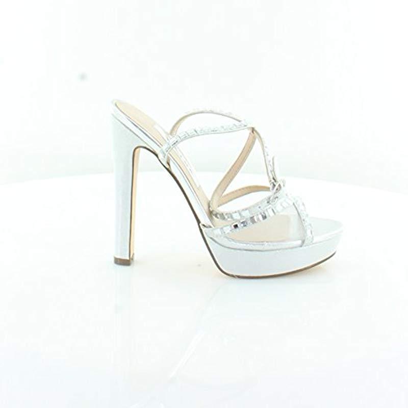 364fa241ca86 Lyst - Nina Myrna Dress Sandal in Metallic - Save 67.67676767676767%