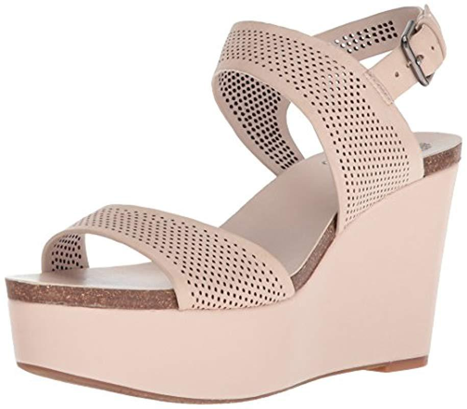 895c3cceeaa Lyst - Vince Camuto Vessinta Wedge Sandal - Save 18.57142857142857%