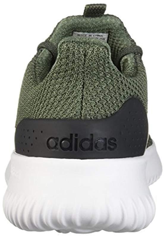 buy popular a4899 5cb57 Adidas - Green Cloudfoam Ultimate Running Shoe for Men - Lyst. View  fullscreen