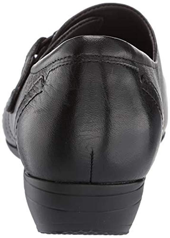 67766de6e47 Dansko - Black Franny Wide Monk-strap Loafer - Lyst. View fullscreen