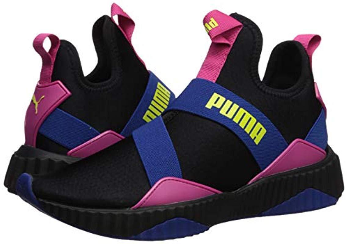 PUMA Rubber S Defy Mid 90s Sneaker