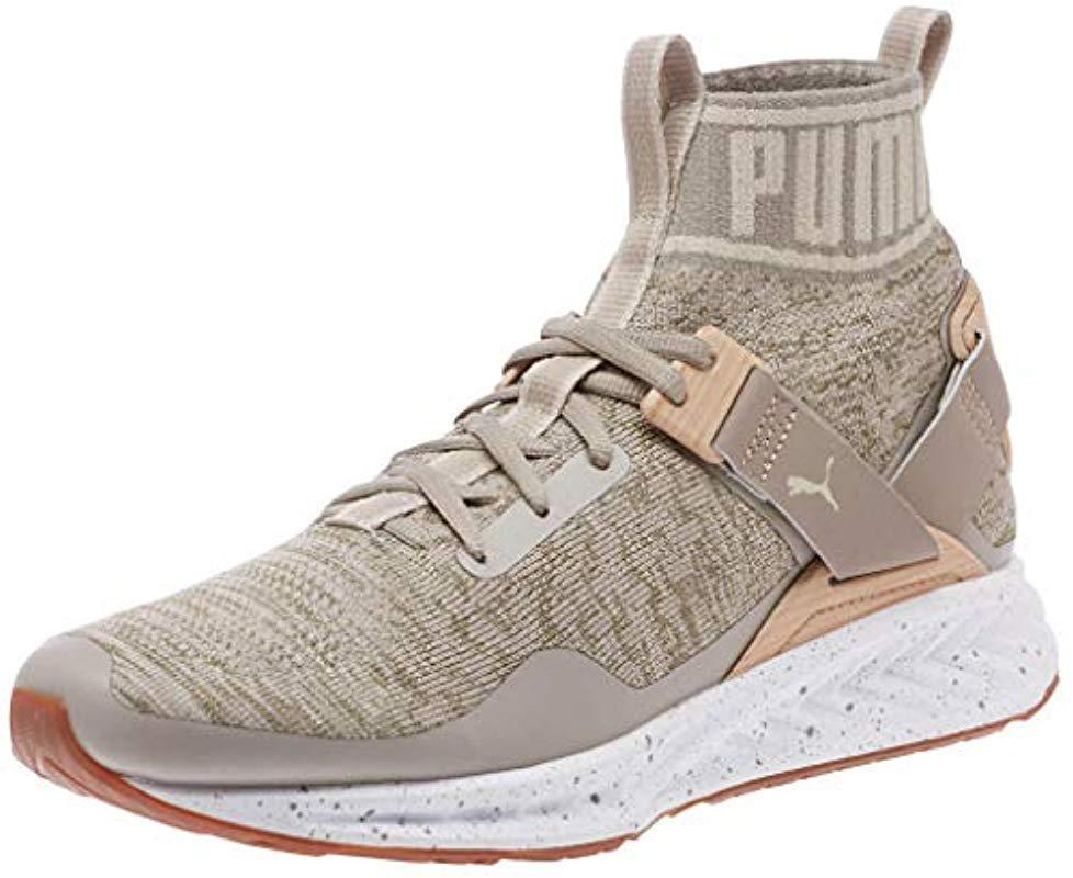 Lyst - Puma Ignite Evoknit Cross-trainer Shoe in Natural for Men 29cb22105