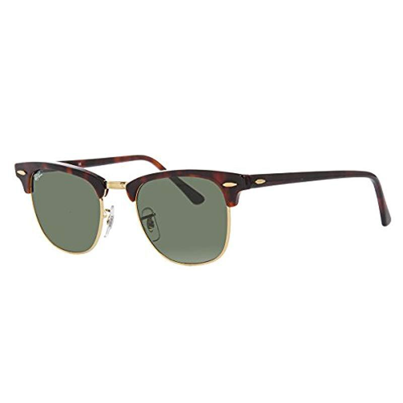 6d956ba1a7820 Lyst - Ray-Ban Clubmaster Classic Sunglasses for Men - Save 22%