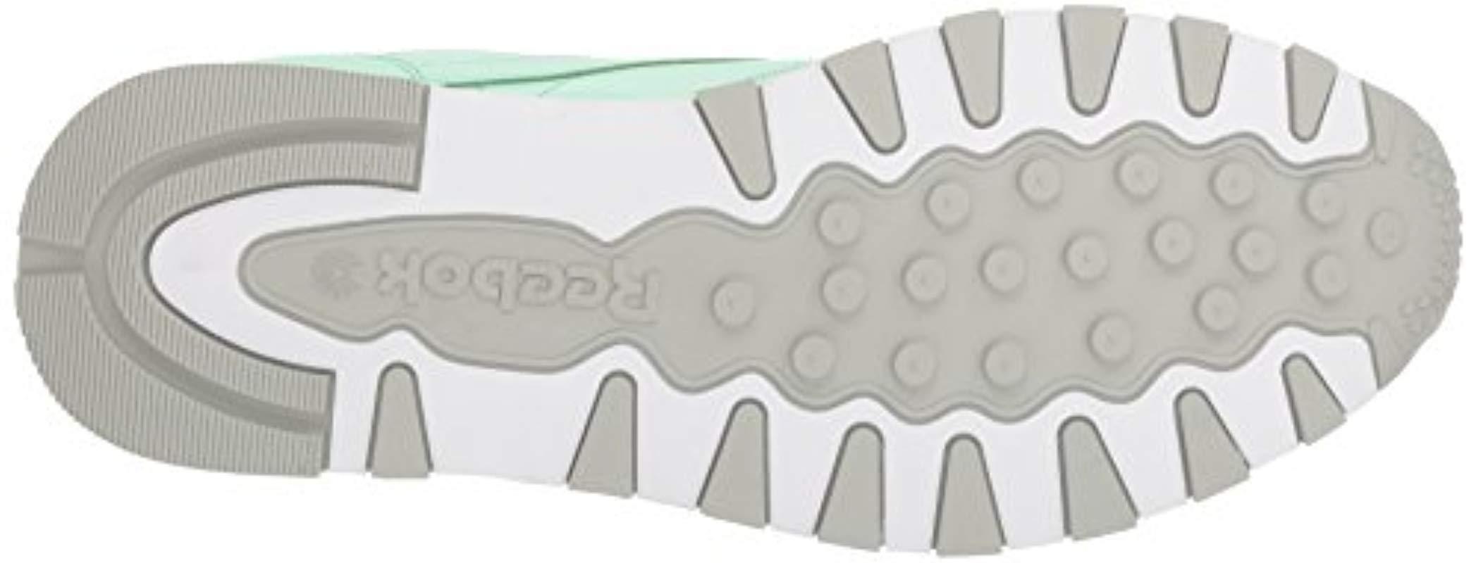 bba6279bbaf52 Reebok - Classic Leather Walking Shoe Digi-digital Green white 5 M Us for.  View fullscreen