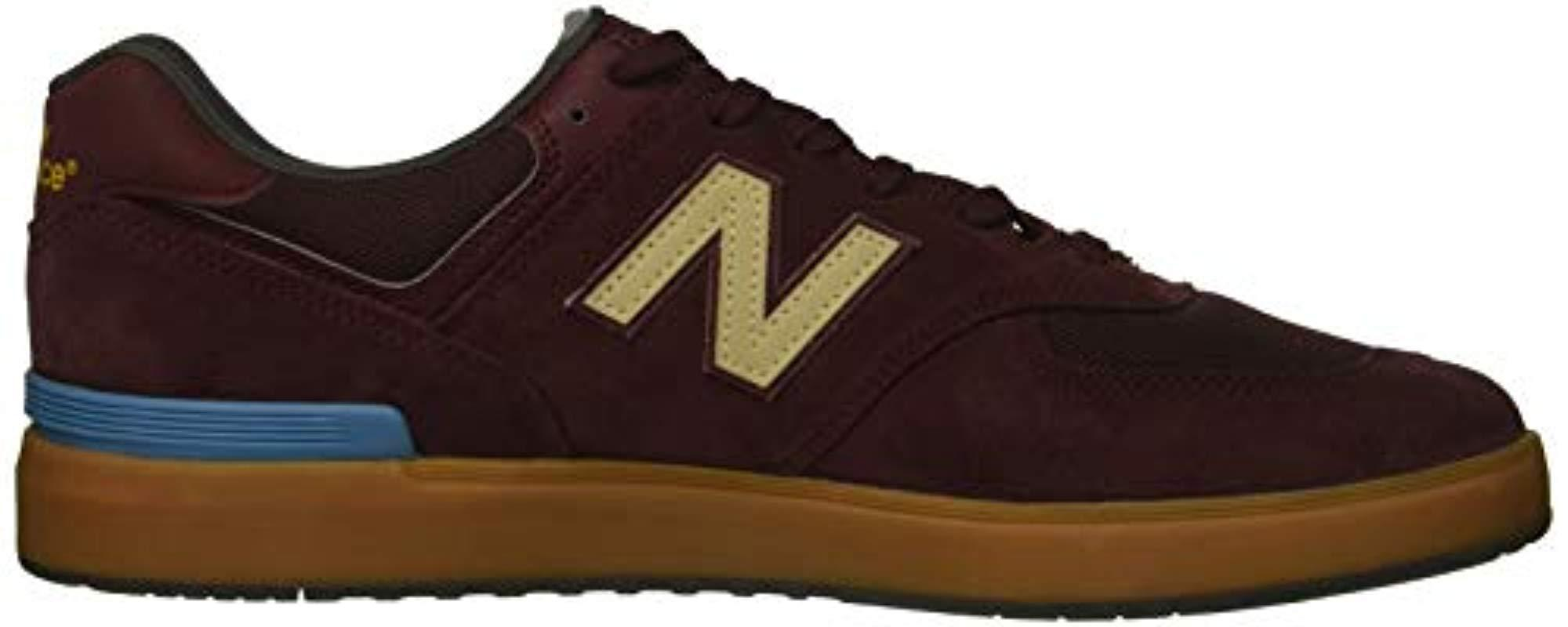 Choose SZ//color Blac New Balance Men/'s 574v1 All Coast Skate Shoe
