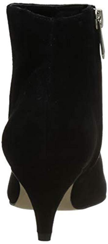 af819a0f8caa5 Sam Edelman - Kinzey Fashion Boot Black Suede 7.5 M Us - Lyst. View  fullscreen