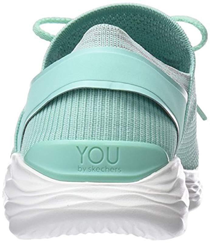 Cesta secretamente odio  Skechers Lace You-14960 Sneaker in Blue (Mint) (Green) - Lyst
