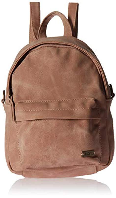 d199020dd8f Lyst - Roxy Walking Away Backpacks in Brown - Save 13%