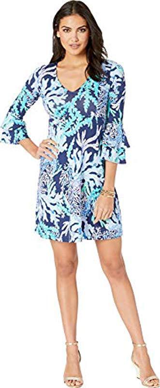 14955d1060598a Lilly Pulitzer - Blue Raina Dress - Lyst. View fullscreen