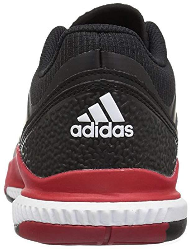 finest selection 0d0b2 ce977 adidas Womens Crazyflight Bounce W Volleyball-Shoes, Mystery InkWhiteIce  Blue, 9 Medium US