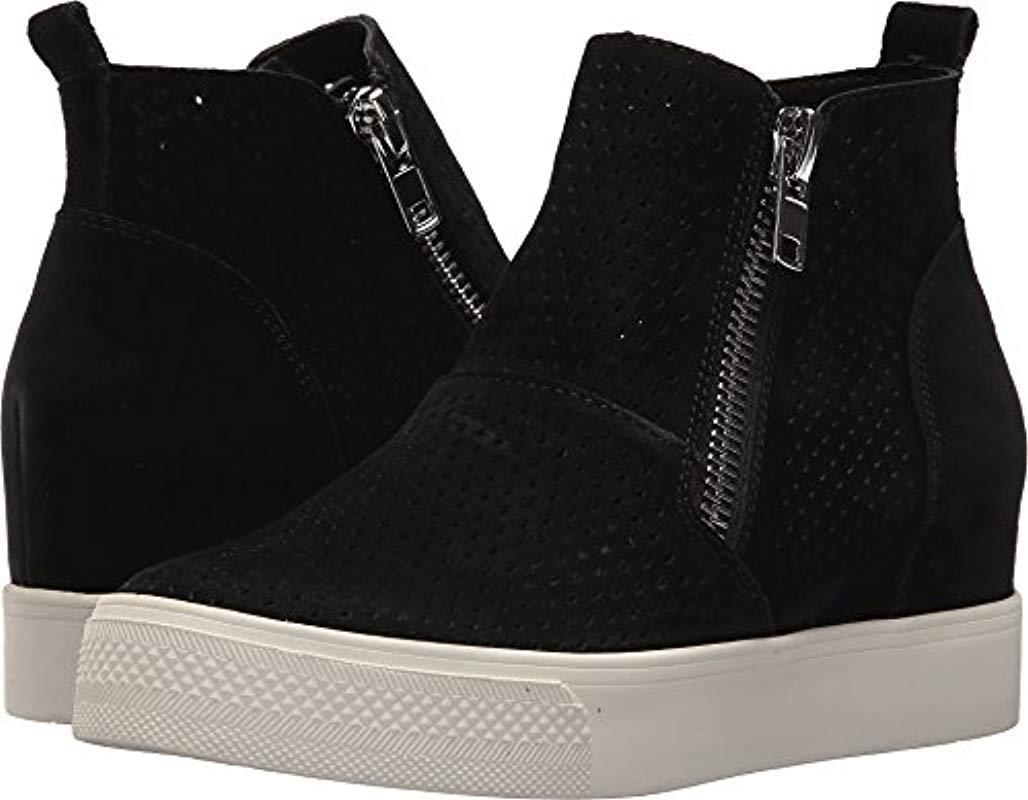 c3b8d1d0ef7 Lyst - Steve Madden Wedgie-p Sneaker in Black