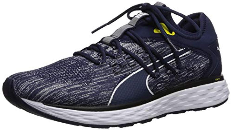 PUMA. Blue Speed 600 Fusefit (peacoat  White blazing Yellow) Men s Shoes eb8e1655e