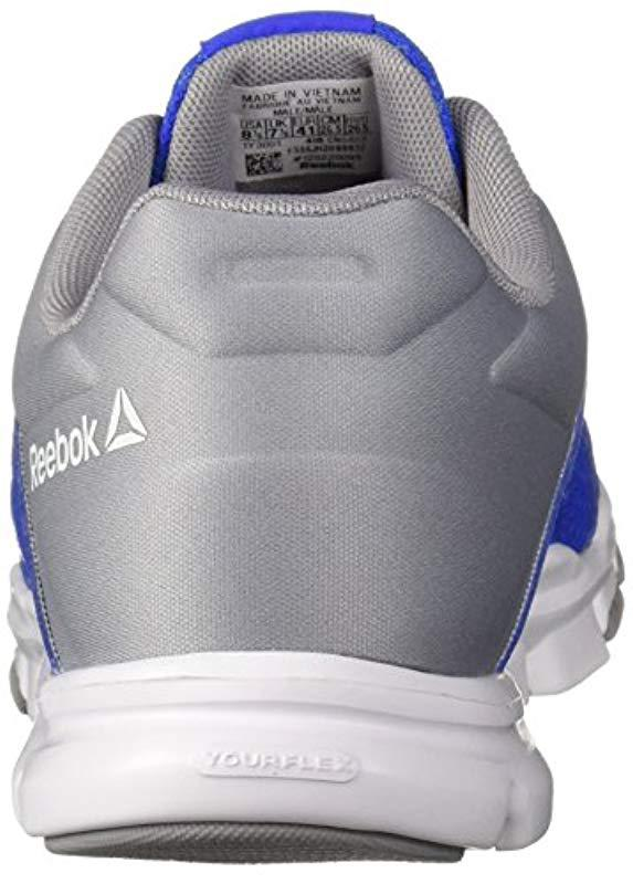 Reebok - Blue Yourflex Train 10 Cross Trainer for Men - Lyst. View  fullscreen e1a890ea2