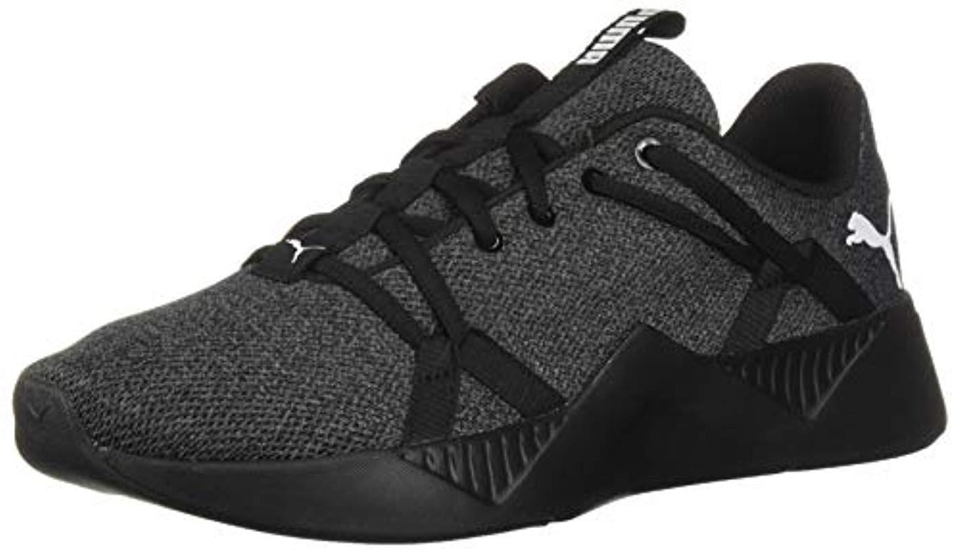 001e8d2054 Women's Black Incite Knit Wn's Fitness Shoes