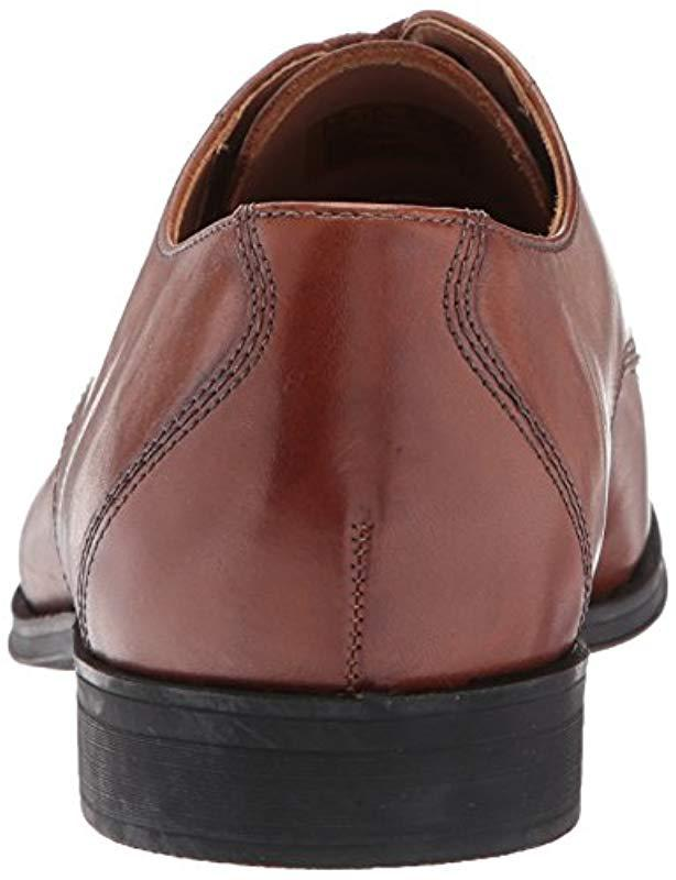 a06d8a87c811 Lyst - Clarks Gilman Mode (black Leather) Men s Lace Up Cap Toe Shoes in  Brown for Men - Save 23%