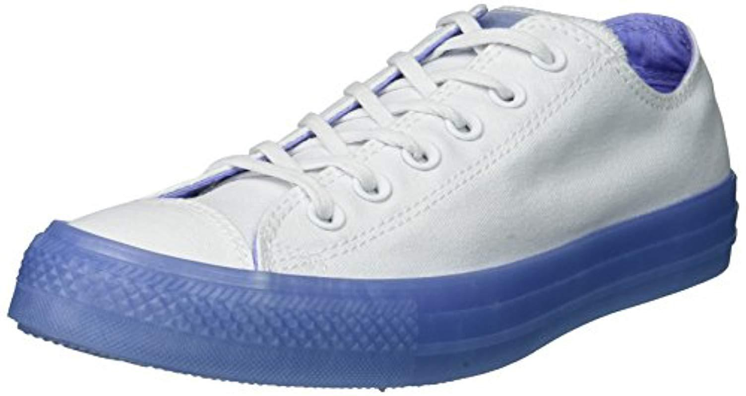 Converse. Women s White Chuck Taylor All Star Candy Coated Low Top Sneaker df7fab4d8