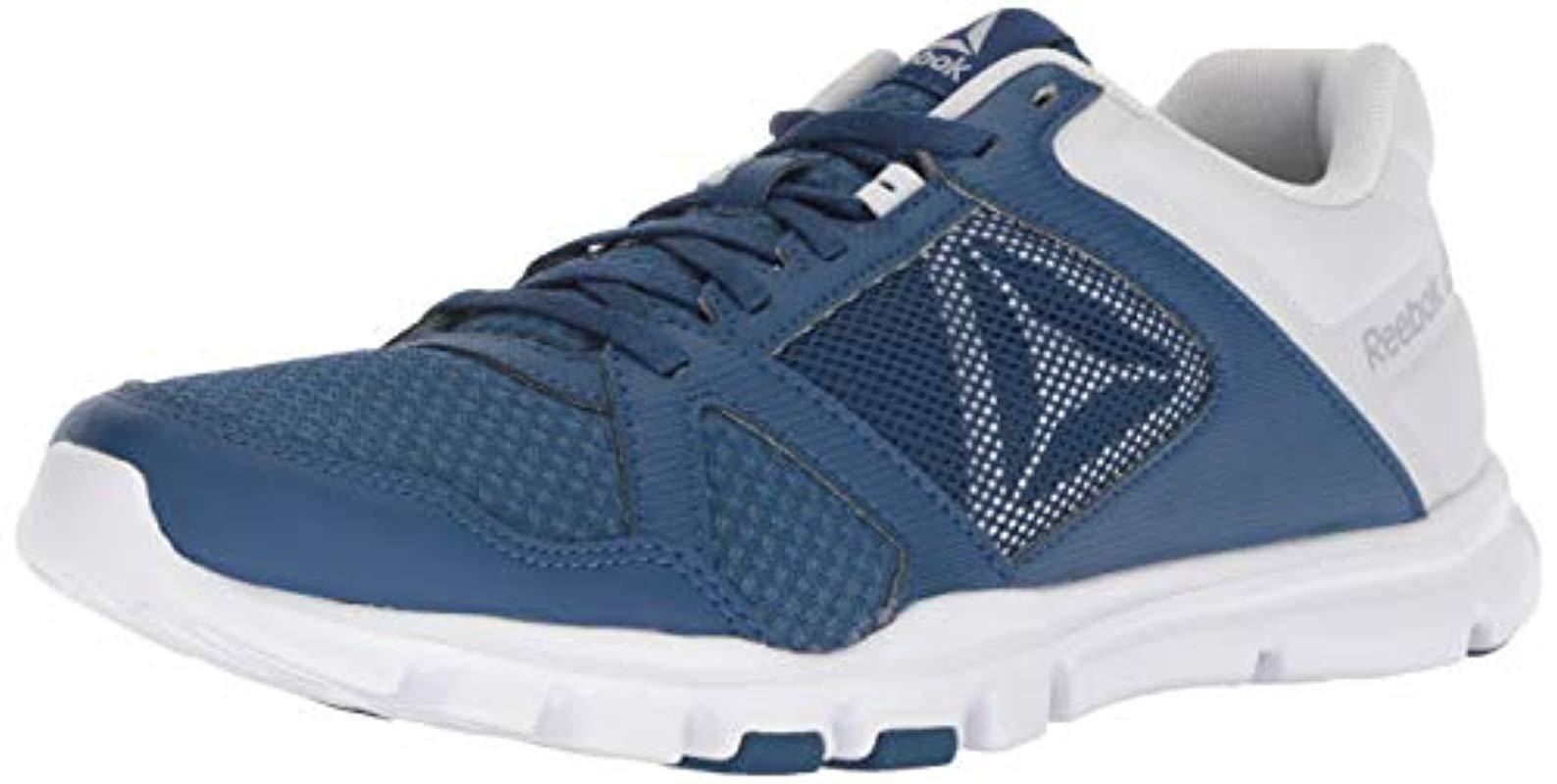 024b702e5bec47 Reebok. Men s Blue Yourflex Train 10 Cross Trainer.  36 From Amazon Prime