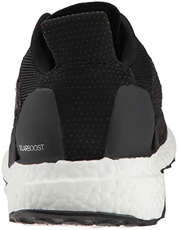 b4dcdf6a86b38 Lyst - adidas Solar Boost Running Shoe in Black for Men - Save 7%