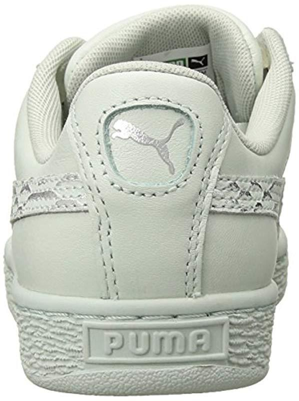 e9c0ba70b43 PUMA - Blue Basket Heart Oceanaire Wn Sneaker - Lyst. View fullscreen