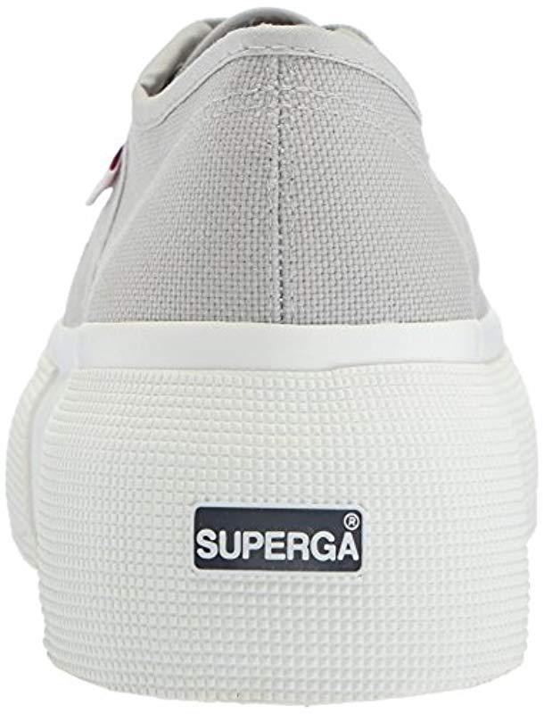 Sneaker Lyst In 2287 Cotu Gray Superga tw6wSqg